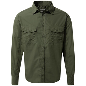 Craghoppers Kiwi Long Sleeved Shirt Men Cedar